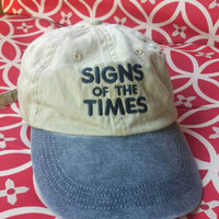 Vintage Signs of The Times hat
