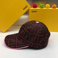 Fendi Men Women Fashion Casual Hat Cap