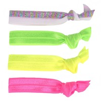 Glam Bands Neon Hair Ties