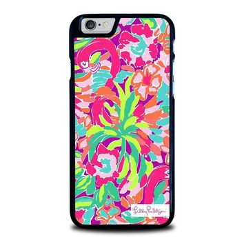 lilly pulitzer summer iphone 6 6s case cover  number 1