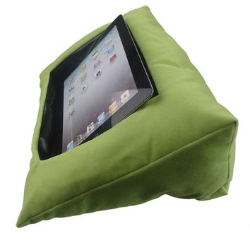 Soft Holder Tablet Log Lap Desk Pyramid Cushion Kits for IPad Pillow Stand Books