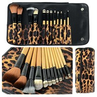 Emylike makeup Brushes 12pc Studio Pro Makeup Make Up Cosmetic Brush Set Kit w/L...