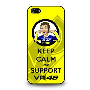 SUPPORT VALENTINO ROSSI 46 iPhone 5 / 5S / SE Case Cover