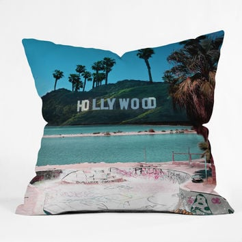 Wesley Bird Saltwood Throw Pillow