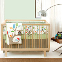 Skip Hop Treetop Friends 4 Piece Crib Bedding Set