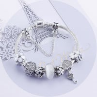 Crystal White Korean Alloy Accessory [10893373007]