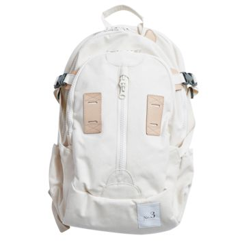 Canvas Travel Backpack - Ivory