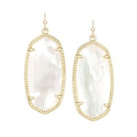 Elle Ivory Drop Earrings in Gold | Kendra Scott Jewelry