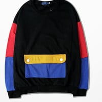 The Ulzzang Retro Harajuku Bf Sweatshirt Japanese Style Couple Lovers Hoodies Loose Fashion Jersey Psg Cdg Play Anime Moletom