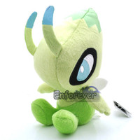 "7"" New Pokemon CELEBI Rare Plush Soft Toy Doll^3C007"