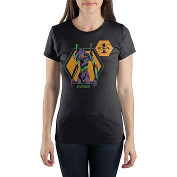 Juniors' Neon Genesis Evangelion Unit-01 T-Shirt
