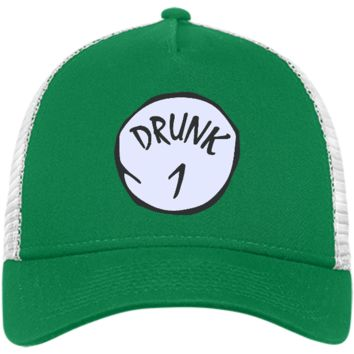 Drunk 1 - Happy St Patrick's day drink beer and drunk - Hat, Cap