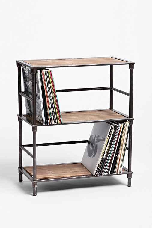 vinyl storage shelf from urban outfitters