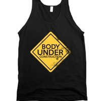 Body Under Construction Tank Top |