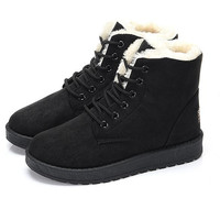 Fashion Women Snow Boots Shoes