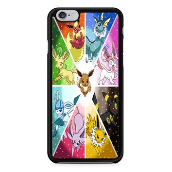 Pokemon The Eeveelutions iPhone 6/6S Case