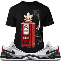 Air Jordan 3s Tinker Sneaker Tees Shirts - GAS PUMP PG