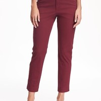 Pixie Chino Mid-Rise Pants for Women | Old Navy