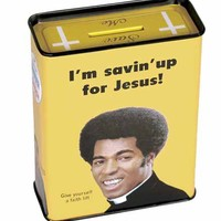 Money Tin - Jesus Tin Bank