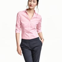 H&M Fitted Shirt $19.99