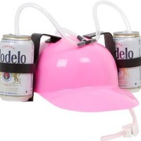 EZ Drinker Beer and Soda Guzzler Helmet