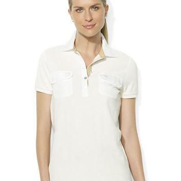 Lauren Ralph Lauren Five-Button Cotton Polo Shirt