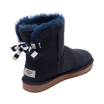 womens ugg bailey bow mini boot from journeys rh wanelo co