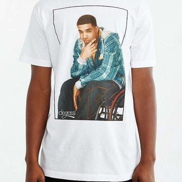 Degrassi Drizzy DRAKE White T-Shirt NWT Authentic & Official