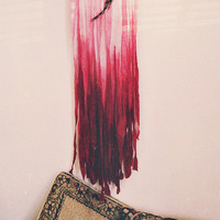 Boho Ombre Dreamcatcher - Small Wall Hanging Dream Catcher  - Bohemian Gypsy Bedroom Decor - Hipster Room Decor - In stock