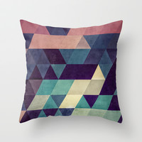 cryyp Throw Pillow by Spires