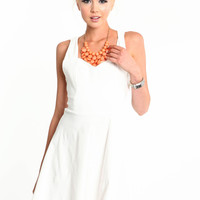 LOVELY DAY BOW DRESS