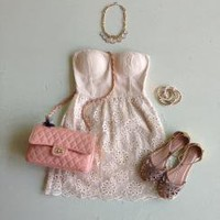 Eyelet Bustier Dress : Swoon Boutique