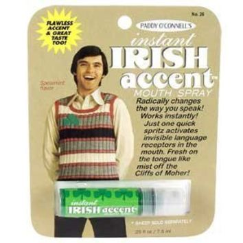 Blue Q Gag Gifts - Instant Irish Accent Breath Spray