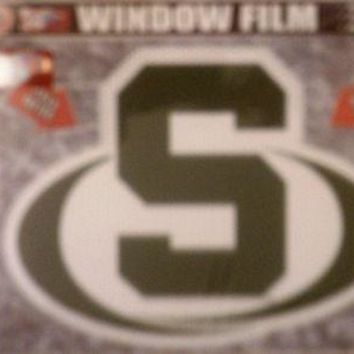 "Michigan State Spartans 8"" Auto Window Film Glass Decal Football University of"