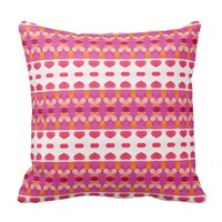 Nice hearth pattern pillow