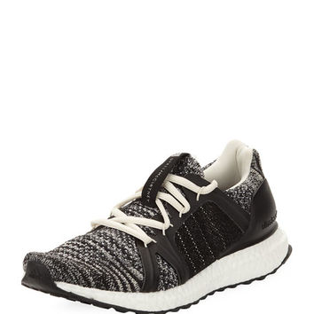 adidas by Stella McCartney Ultra Boost Parley Knit Trainer Sneaker, Black