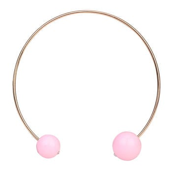 Tribal Collection Necklace Pearl Baby Pink Double Size Necklace
