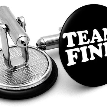 Glee Team Finn Cufflinks
