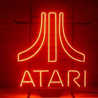 Atari Gmaeroom Neon Sign