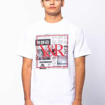 Trademark Box Tabloid Tee - White