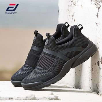 FANDEI 2018 running shoes for men new design sport shoes men sneakers athletic shoes slip on jogging walking shoes zapatillas