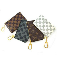 """Louis Vuitton"" LV Key Pouch Clutch Bag Coin Purse Small Wallet"