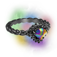 Wicked Unicorn - Candle & Bath Bomb Gift Set With a Ring and a Chance to Win a $10k Ring