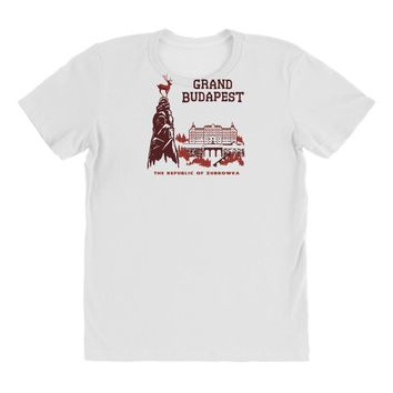 grand budapest hotel All Over Women's T-shirt