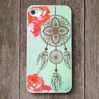 iPhone 4 Case, iPhone Case, iPhone 4S Case, iPhone Case 4/4S - Antique Dream Catcher - 139