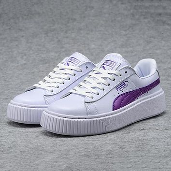 PUMA Platform Women Casual Sport Shoes Sneakers