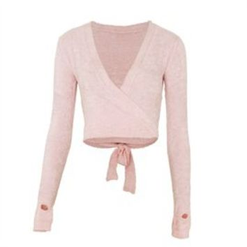 SP3001 Chenille Wrap Top by Capezio, great prices, same day despatch - Dancing in the Street