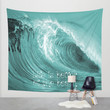 Better at the Beach Wall Tapestry by Alice Gosling