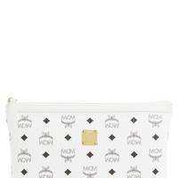 MCM 'Medium Heritage' Top Zip Pouch | Nordstrom