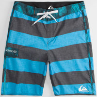 Quiksilver Everyday Brigg Mens Boardshorts Black/Blue  In Sizes